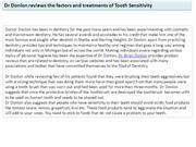 Dr Donlon reviews the factors and treatments of Tooth Sensitivity