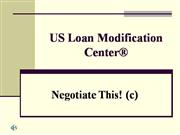 US Loan Modification Center®