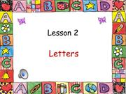 Alphabet letters H through N