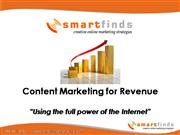 Smartfinds Internet Marketing Content Ma