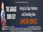 Garage doors provide additional security to any home