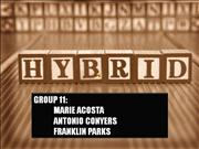 Hybrid Cars