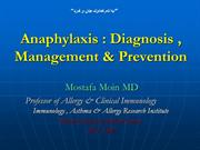 Anaphylaxis-2012