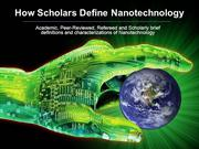 How Scholars Define Nanotechnology