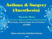 Asthma & Surgery(Anesthesia)2012