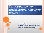 Intellectual property rights-1