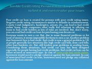 Terrible Credit rating Personal loan - Easy methods to find it and eve