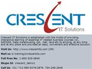 Crescent IT Solutions Received Valuable Testimonial on Oracle Apps DBA