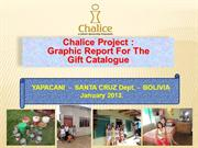 The Chalice Gift Catalogue Really DOES Change Lives!