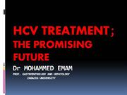 CLINCAL COURSE IN HCV