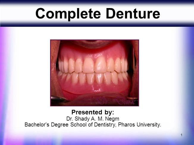 diagram of complete denture wiring diagram for light