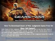 Get Free Gears of War Judgment Game DLC - Xbox 360