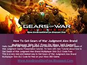 Gears of War Judgment Alex Brand Multiplayer Skin DLC - Xbox 360