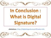 Digital Signature Meaning in Hindi