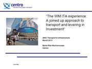 Integrated Transport Authority - A Joined Up Approach