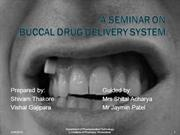 Buccal Drug Delivery System ppt