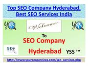 Top SEO Company Hyderabad, Best SEO Services India