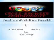 Cross-Browser &Mobile Browser Compatibility