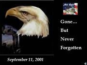 September 11, 2001 Slide Show Tribute