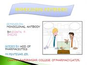 MONOCLONAL ANTIBODIES