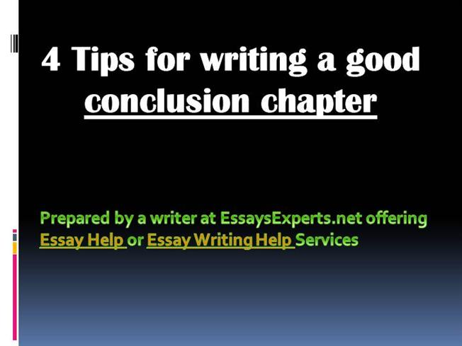 What are some good tips on writing a good essay?