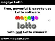 Best Lotto Software with Real Lotto Winners