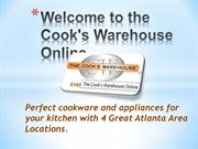 Welcome to the Cook's Warehouse Online