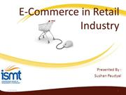Ecommerce in retail industry