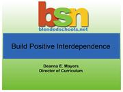 Build Positive Interdependence