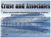 tax news cruse and associates accounting reviews