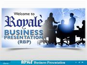 Royale Business Presentation (New Theme!!) Unofficial