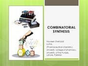 Combinatorial synthesis