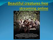 Beautiful creatures free streaming online
