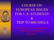 SAI_Presentation_Course_EU_Issues_APR2002