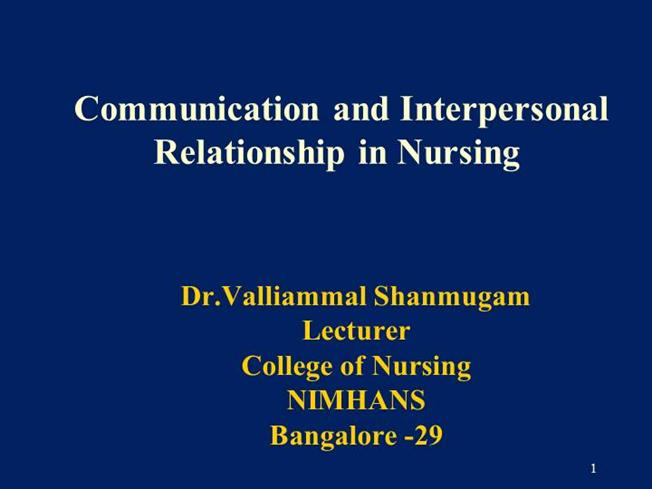Communication in nursing authorstream view more presentations fandeluxe Image collections