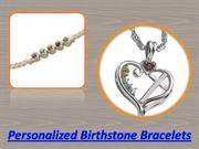 Personalized Birthstone Bracelets