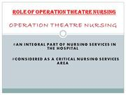 Critical Role of Nursing