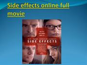Side effects online full movie