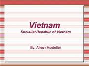 Vietnam - Country Project