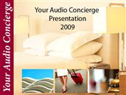 Audio Concierge Advertiser