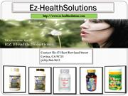 Buy Online Vitamins and Supplement from Ez-Healthsolutions