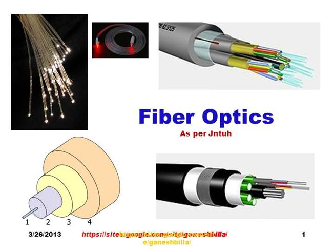 Fiber optic connection presentation template for powerpoint and.