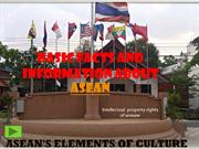 ASEAN ELEMENTS OF CULTURE
