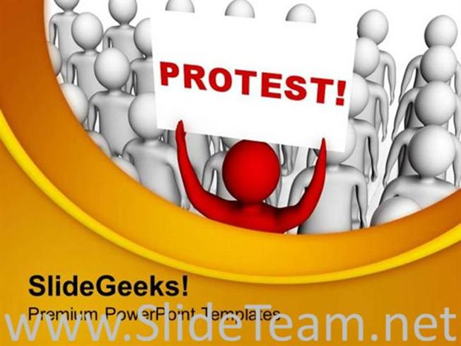 Do not protest with wrong reason powerpoint template powerpoint template related powerpoint templates toneelgroepblik Choice Image