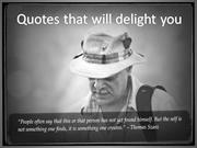 Quotes that will delight you!