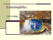 Lecture2_extremophiles