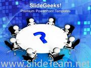 DISCUSS THE BUSINESS PROBLEM WITH TEAM POWERPOINT TEMPLATE
