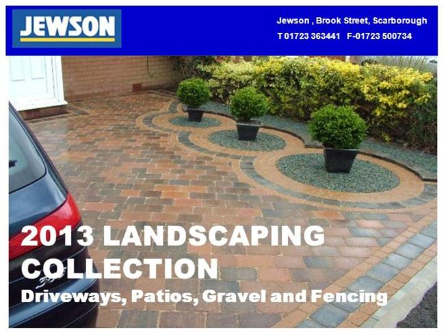 Jewsons Block Paving >> 2013 Landscaping Collection Scarborough Authorstream