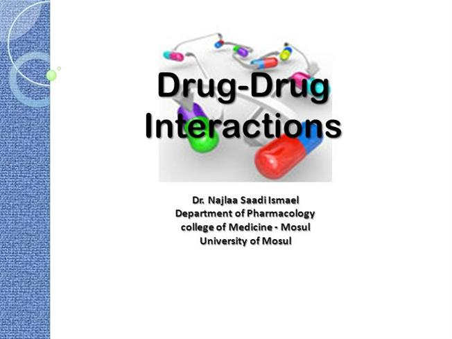 drug interactions Drug-condition interactions drug-condition interactions happen when you have a medical condition that reacts badly to certain drugs high blood pressure may affect nasal decongestants, for example.