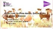 E-Lecture on Farm Animal Diagnostics for Johne's Disease DAMASO